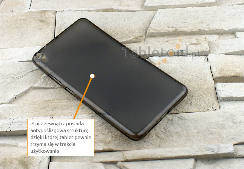 elastyczny pokrowiec na tablet Lenovo 750M