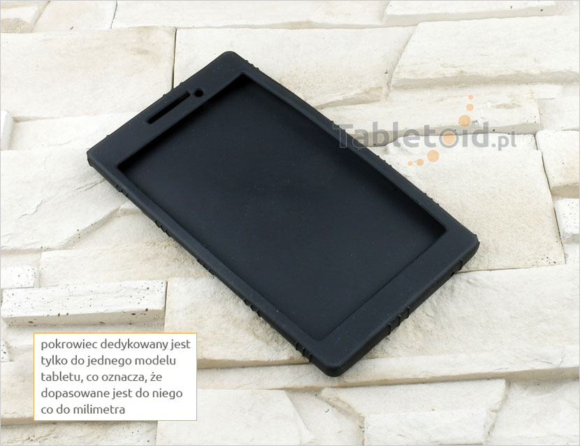 Etui silikonowe do tabletu Lenovo Tab2 A7-10