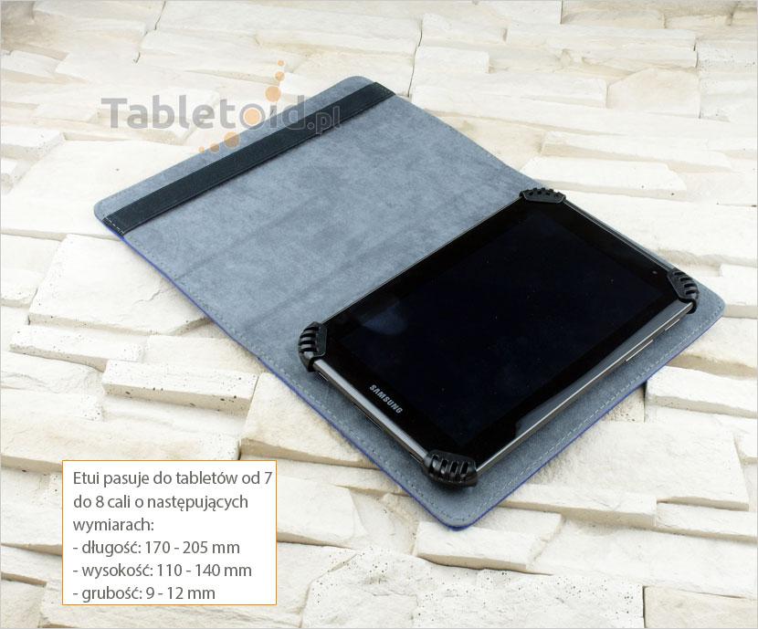kisiążkowy futerał na tablet