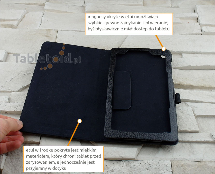 Etui książkowe do tabletu Lenovo Tab 3 Essential