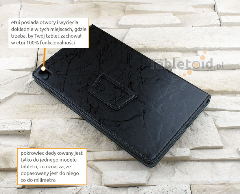 etui dedykowane do Lenovo Tab3 8 Plus P8 8.0 TB-8703F TB-8703N