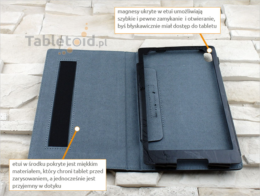 pokrowiec na tablet Lenovo Tab3 8 Plus P8 8.0
