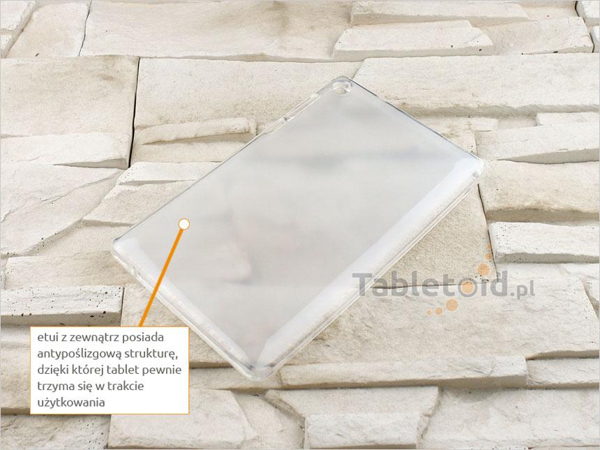 elestyczne plecki na tablet dopasowane