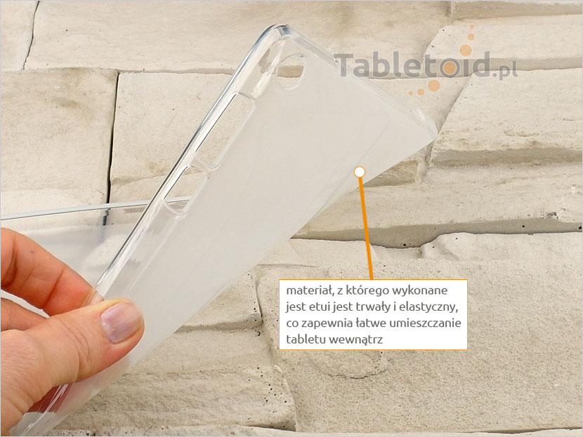 pokrowiec silikonowy na tablet Lenovo Tab 3 7cali Basic 710 F/L