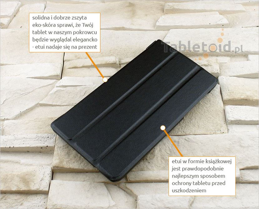 dedykowany pokrowiec na tablet Lenovo tab 3 730