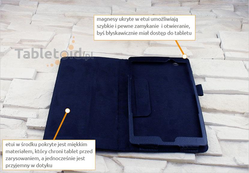 futerał na tablet z eko-skóry