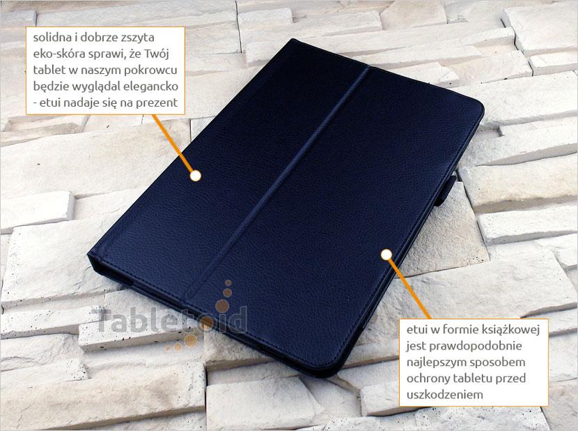 Pokrowiec zamykany na tablet asus transformer book t101ha