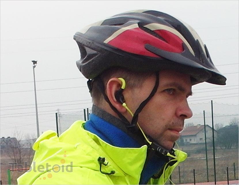 bezprzewodowe słuchawki dla sportowców