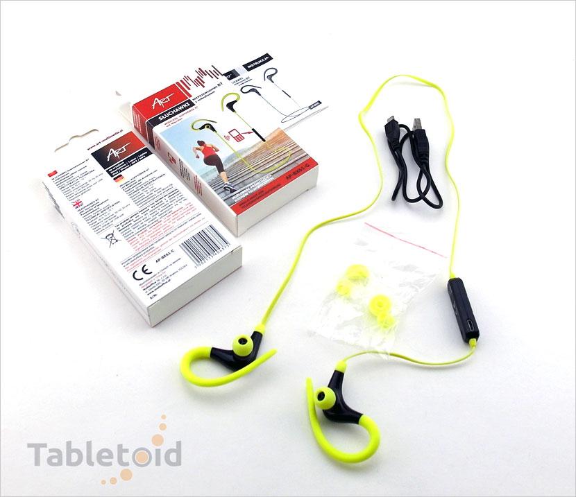 żółte słuchawki bezprzewodowe