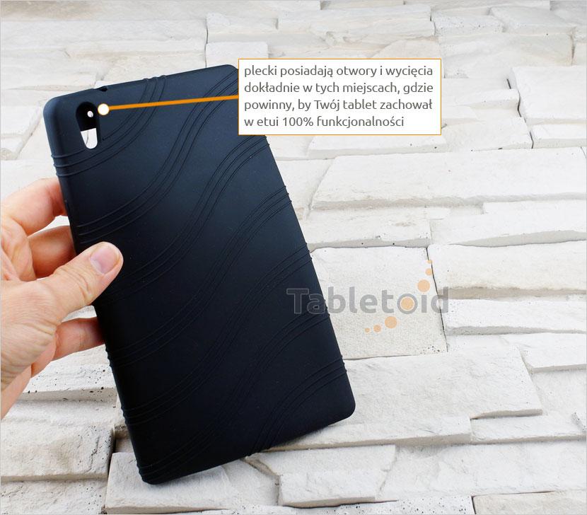 Pokrowiec silikonowy na tablet Huawei MediaPad T2 8.0 Pro/Honor 2