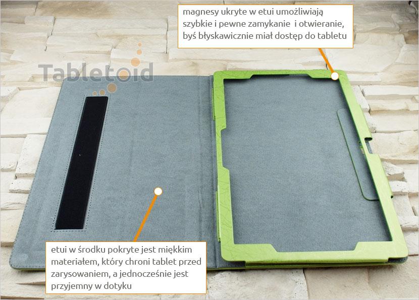 Elagancki pokrowiec na tablet