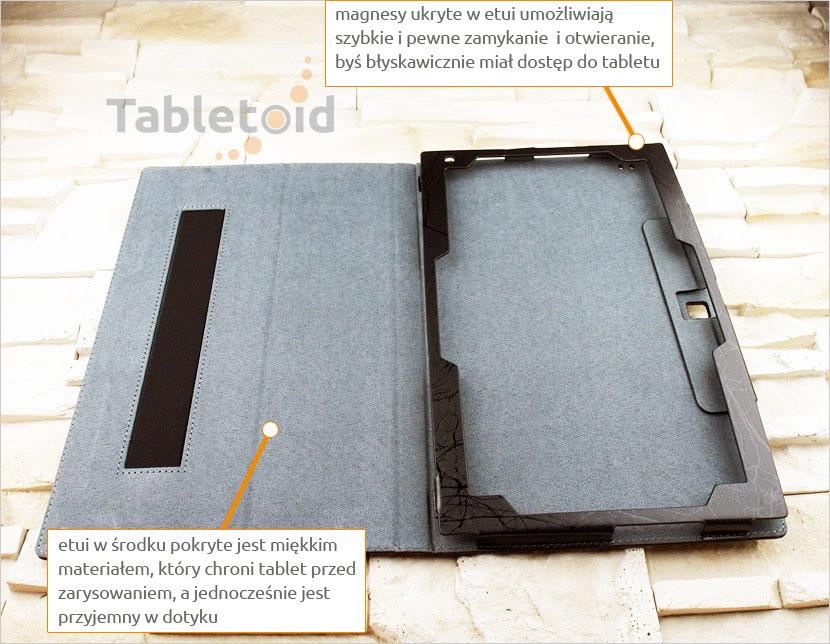 Etui książkowe na tablet Teclast TBook 16 11.6 cala