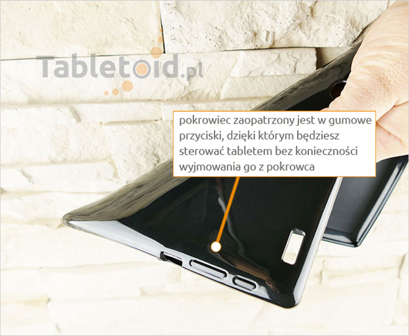 silikonowe etui do tabletu Samsung Galaxy Tab 3 7 cali