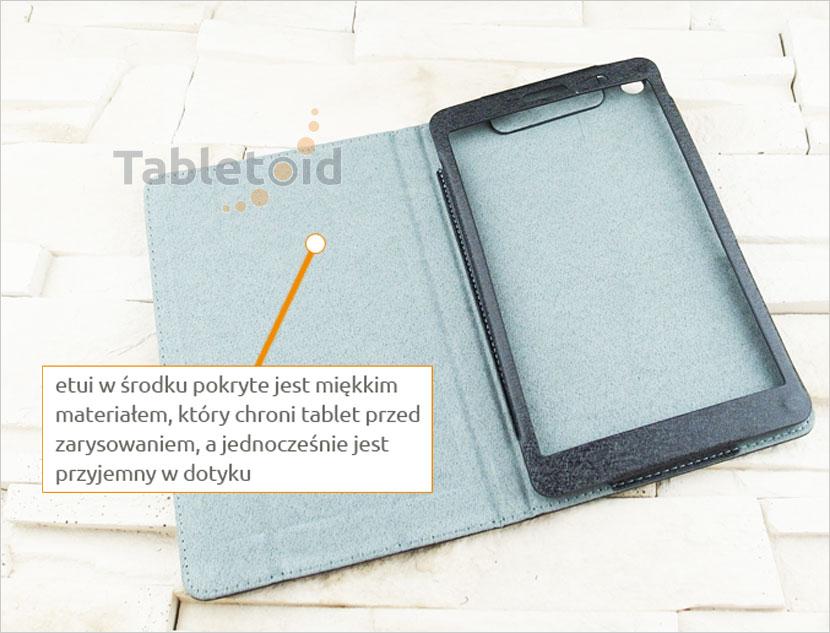 etui na tablet z eko-skóry Huawei MediaPad T3 8 KOB-L09 KOB-W09