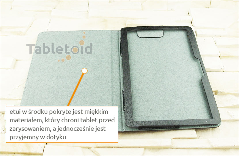 etui na tablet z eko-skóry Huawei MediaPad T3 10 AGS-L09 AGS-L03 9.6 cala