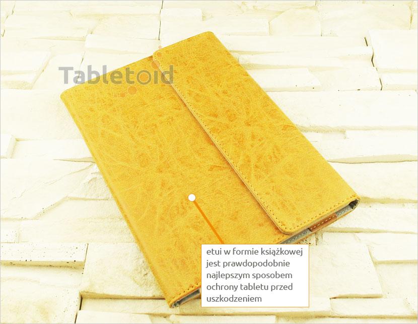 etui książkowe do tabletu  Lenovo Yoga Book 10.1 z możliwością włożenia z klawiaturą