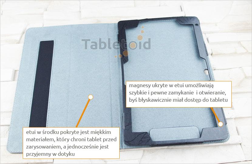 Etui książkowe na tablet Chuwi Hi10 plus / Vi10 plus 10.8 cala