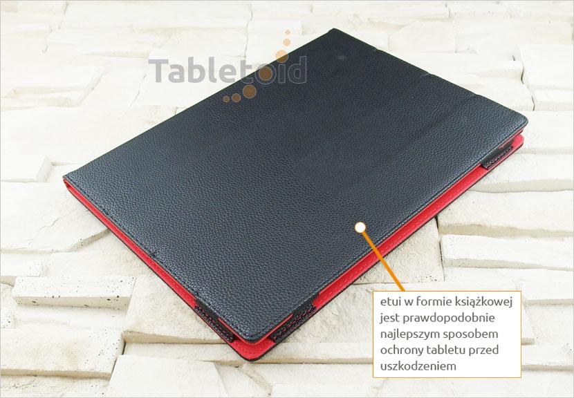 etui książkowe do tabletu  Lenovo Yoga A12