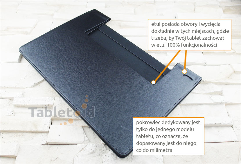 Pokrowiec zamykany Lenovo Yoga 2 Pro 1380F, 1380L