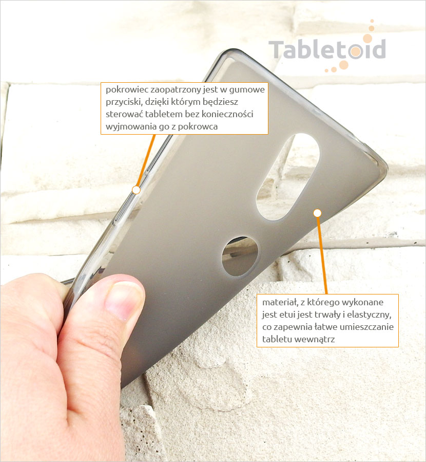 ochrona tableta Lenovo PHAB 2 Plus PB2-670N, 670M, 670 6.4 cala