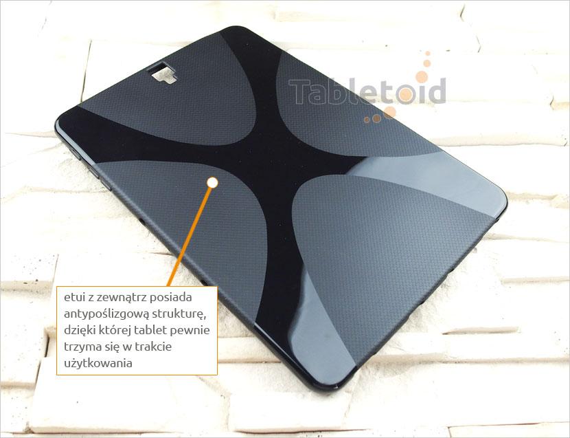tylna ścianka silikonowego etui do Samsung Galaxy Tab S3 9.7 cala T820 T825