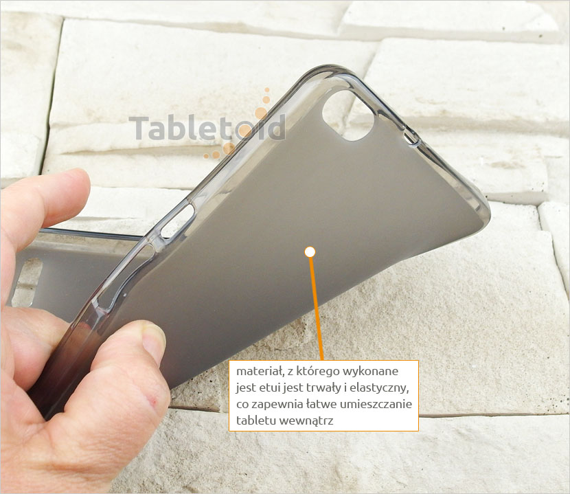 przezroczyste plecki na tablet