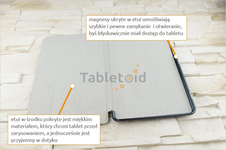 Dedykowany pokrowiec na tablet  LG G Pad 3 10.1 x760