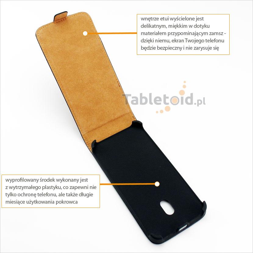 Wewnętrzna część etui do telefonu HTC Desire 700