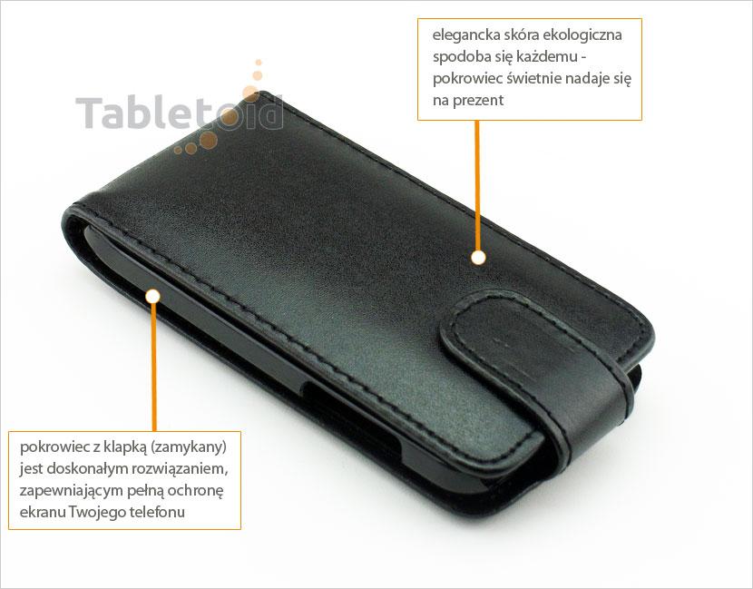 pokrowiec na telefon HTC One V