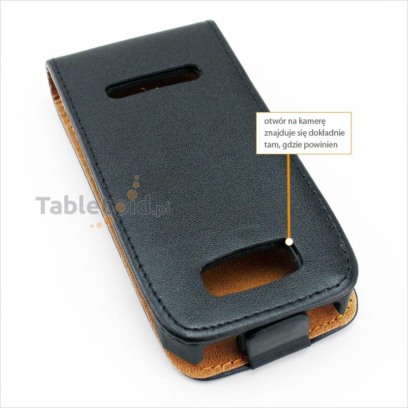 Dedykowany pokrowiec z klapką do telefonu Nokia Asha 306