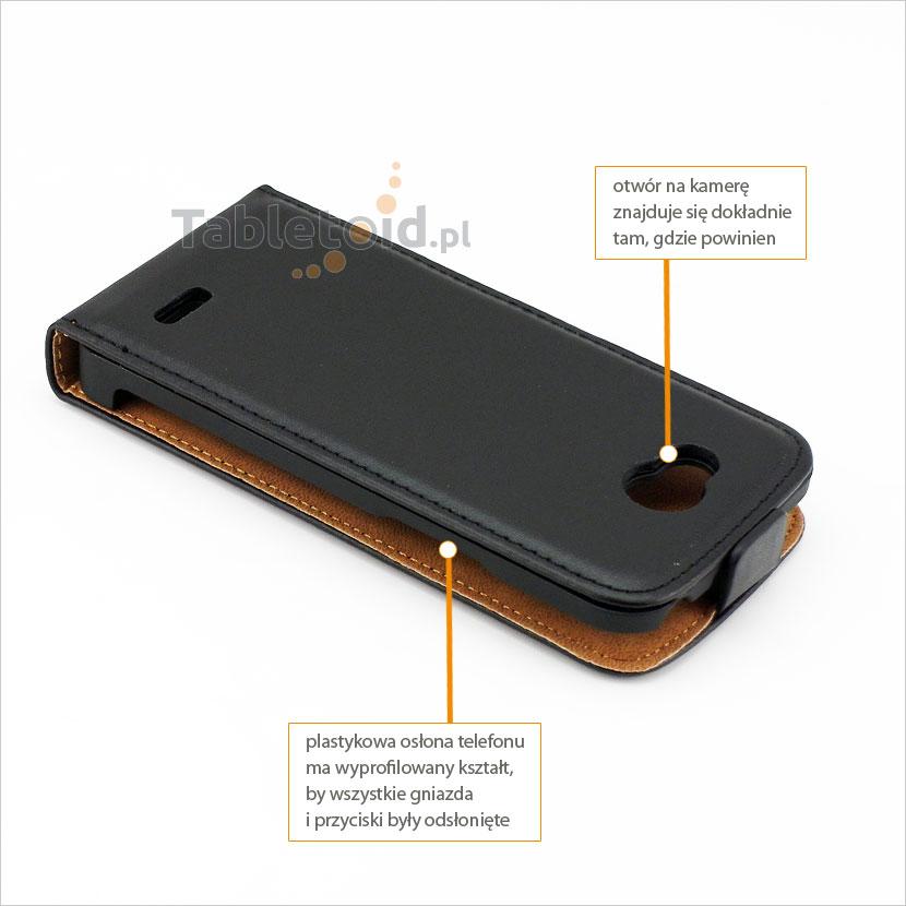 Kabura dedykowana do telefonu LG L90 D405N, D405