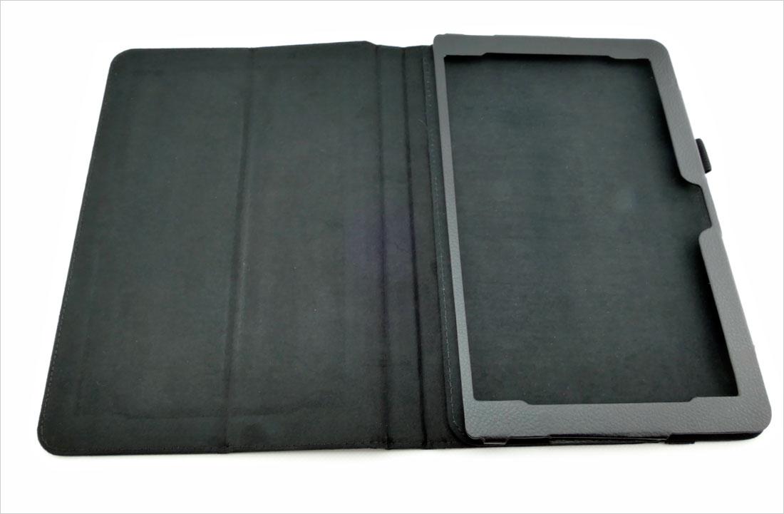 CZARNE etui książkowe na tablet Asus Transformer Book Mini T103HAF