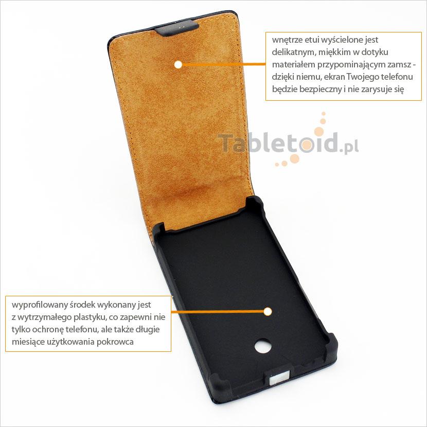 Pokrowiec do telefonu LG Optimus Swift L3