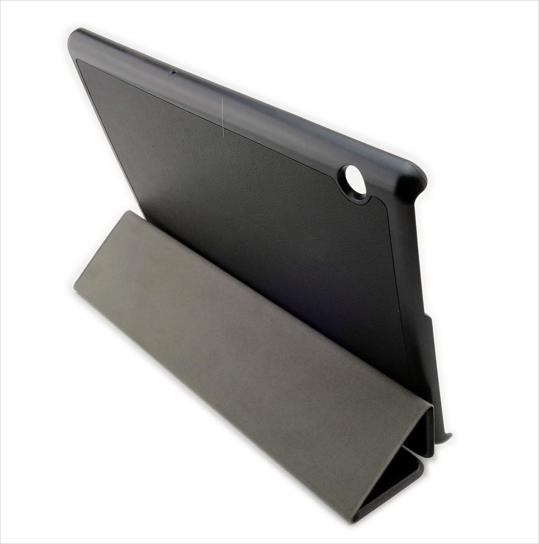 CZARNE dedykowane zamykane (książkowe) etui do tabletu Huawei MediaPad T5 10