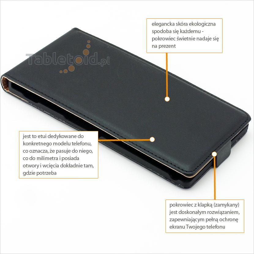 Pokrowiec na komórkę Sony Xperia T2 Ultra