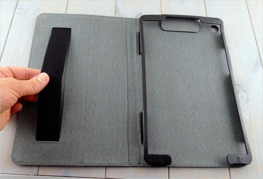 wzorzysty futerał na tablet