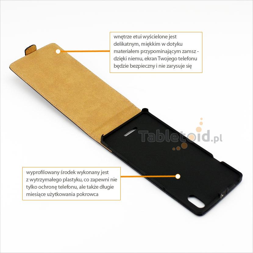 Dedykowane etui do smartfonu Sony Xperia T3