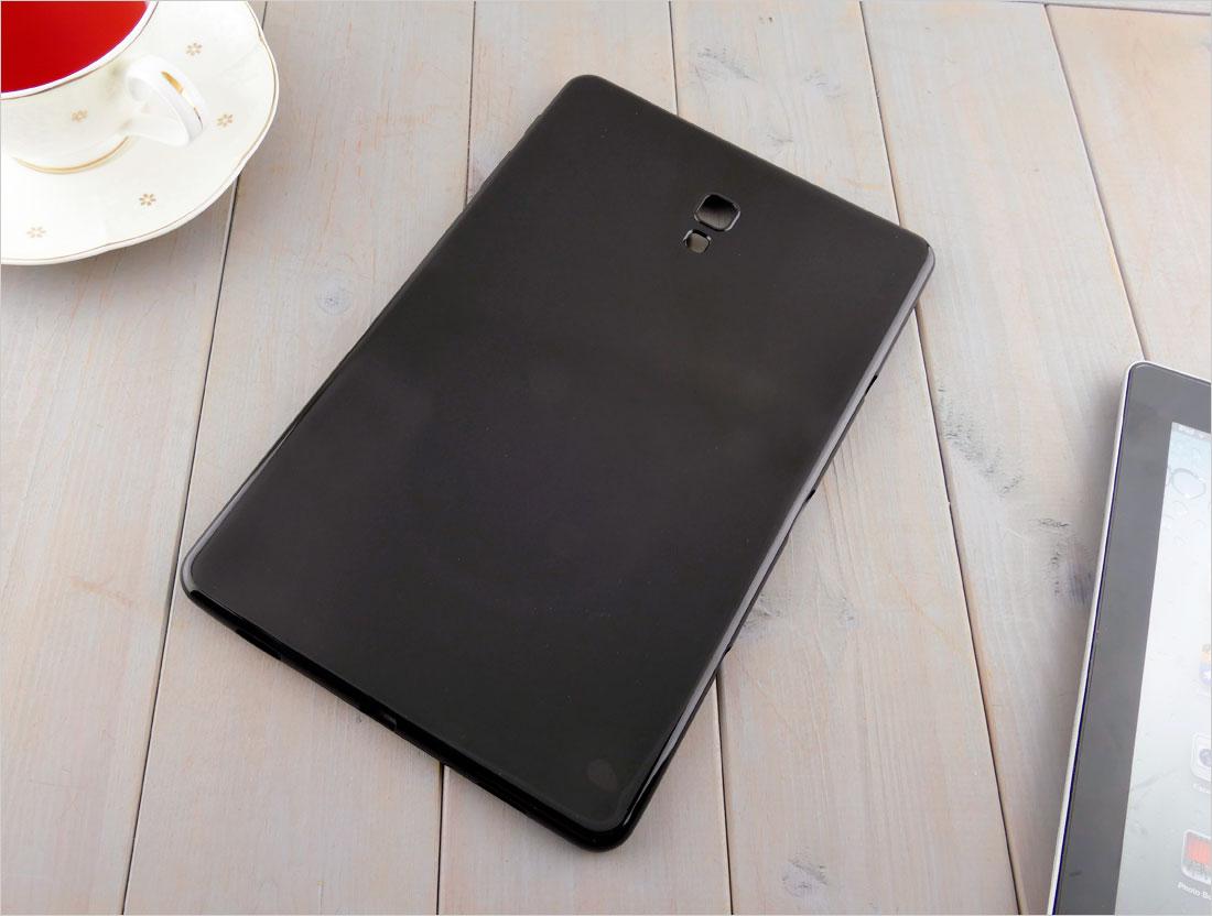 CZARNE elastyczne etui (plecki) do tabletu Samsung Galaxy Tab A 10.5 T595, T590