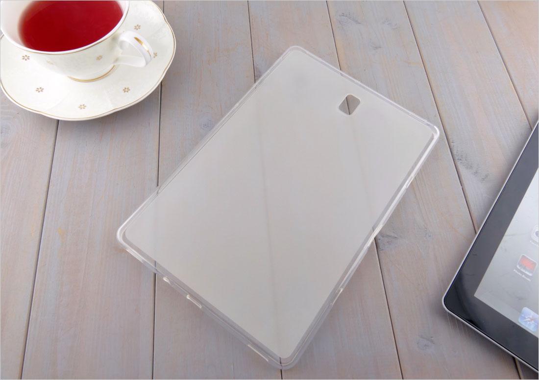 CZARNE elastyczne etui (plecki) do tabletu Samsung Galaxy Tab S4 10.5 T830, T835 2018