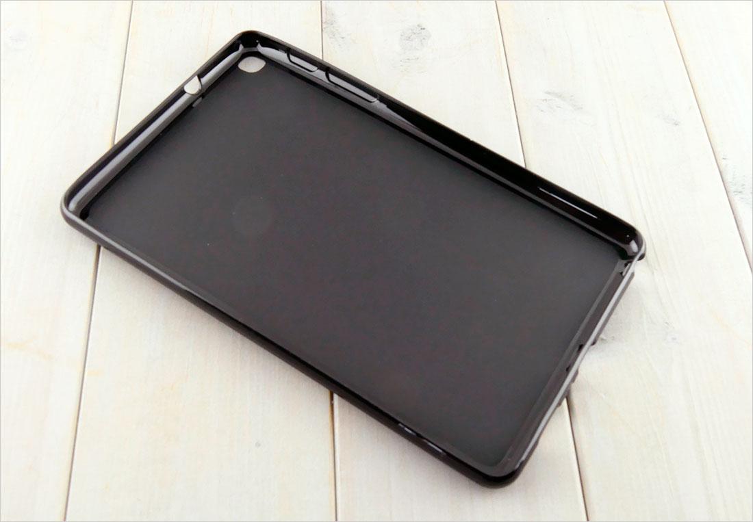 CZARNE etui silikonowe Samsung Galaxy Tab A 8.0 2019 P200 P205 SM-P200