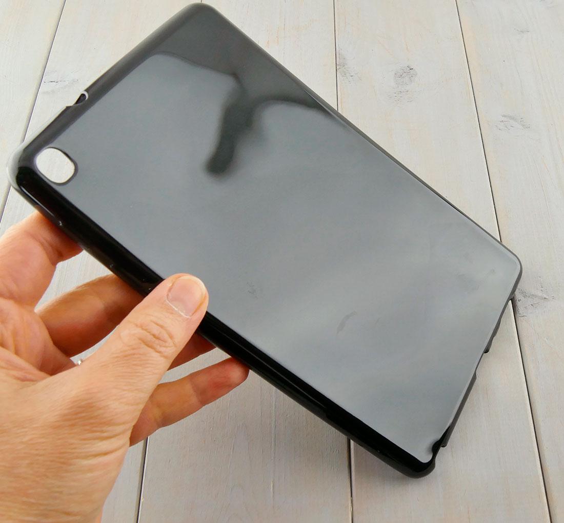zabezpieczenie tabletu CZARNE etui silikonoweSamsung Galaxy Tab A 8.0 2019 P200 P205 SM-P200