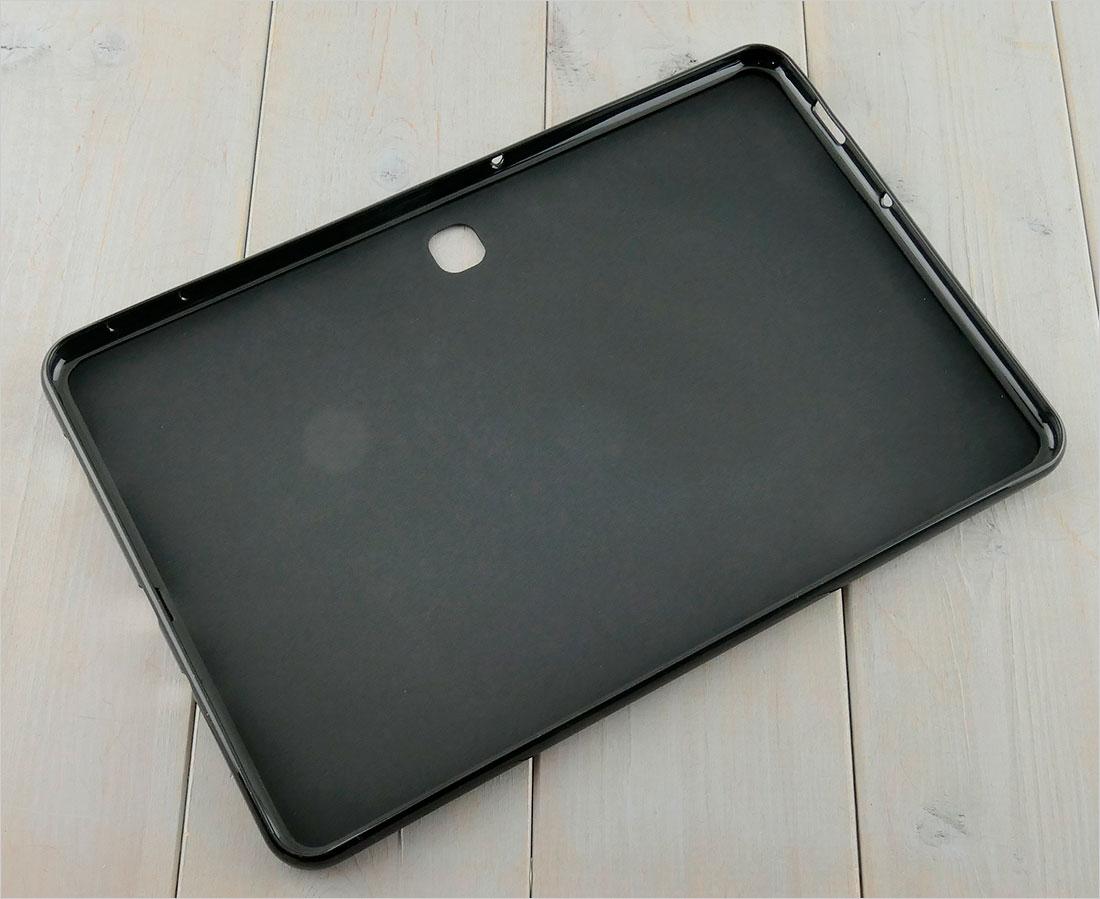 CZARNE etui silikonowe Samsung Galaxy Tab A 10.1 2019 SM-T583