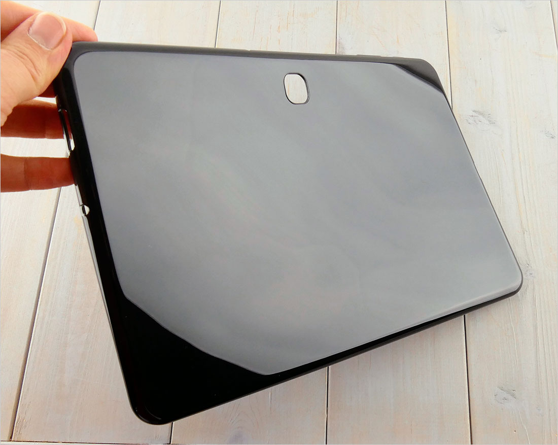 zabezpieczenie tabletu CZARNE etui silikonowe Samsung Galaxy Tab A 10.1 2019 SM-T583