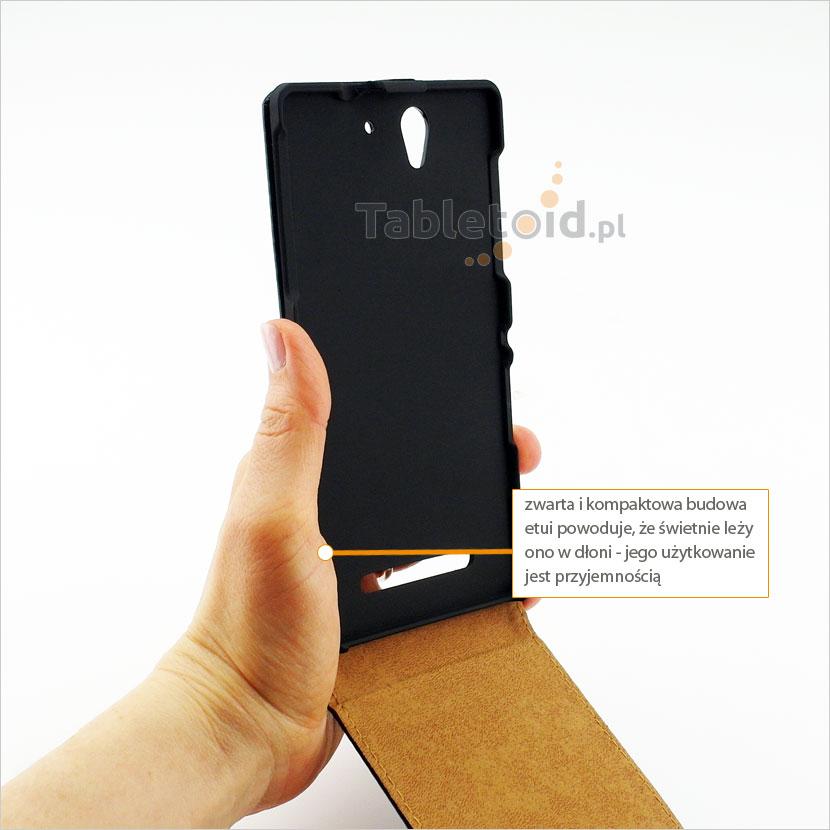 Wytrzymałe etui na telefon Sony Xperia C3