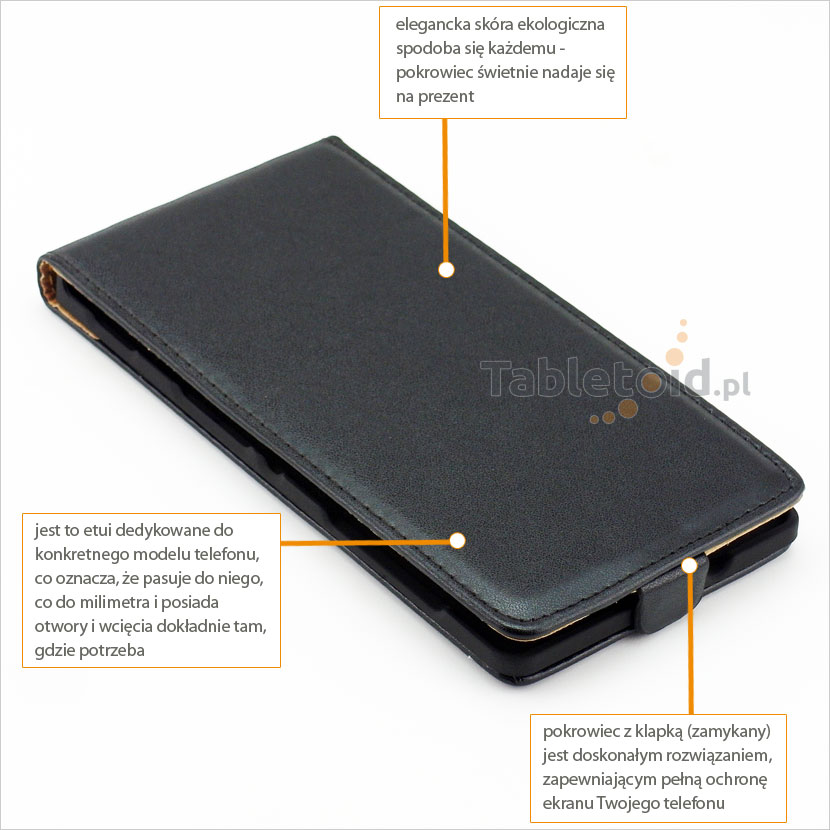 Kabura do telefonu Sony Xperia C3