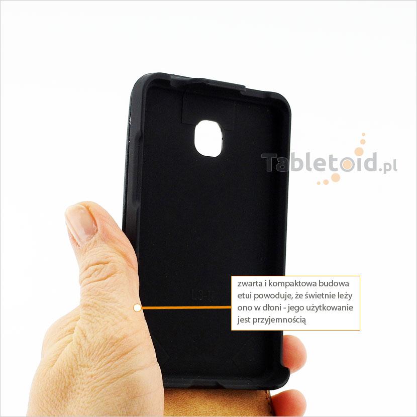 Pokrowiec pasujący idealnie to smarphone LG Optimus L3 II Swift L3 II, E430