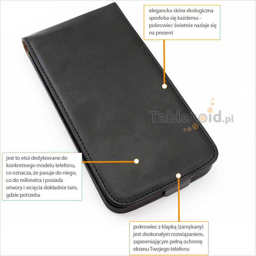 Eleganckie pokrycie na telefon LG G Flex F340L, F340K, F340S