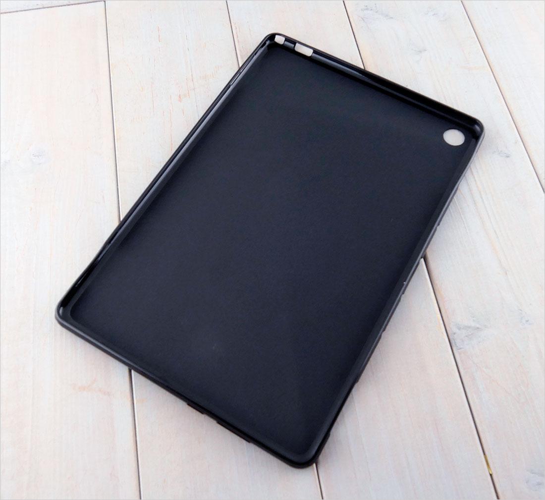 CZARNE etui silikonowe na tablet Huawei Mediapad M5 Lite 10 BAH2-W19/L09/W09