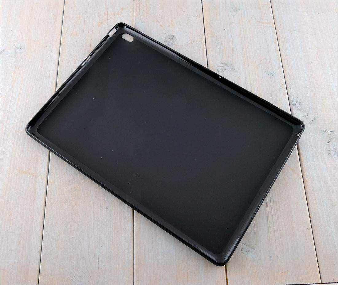 CZARNE etui silikonowe na tablet Lenovo TAB E10 TB-X104F 10.1