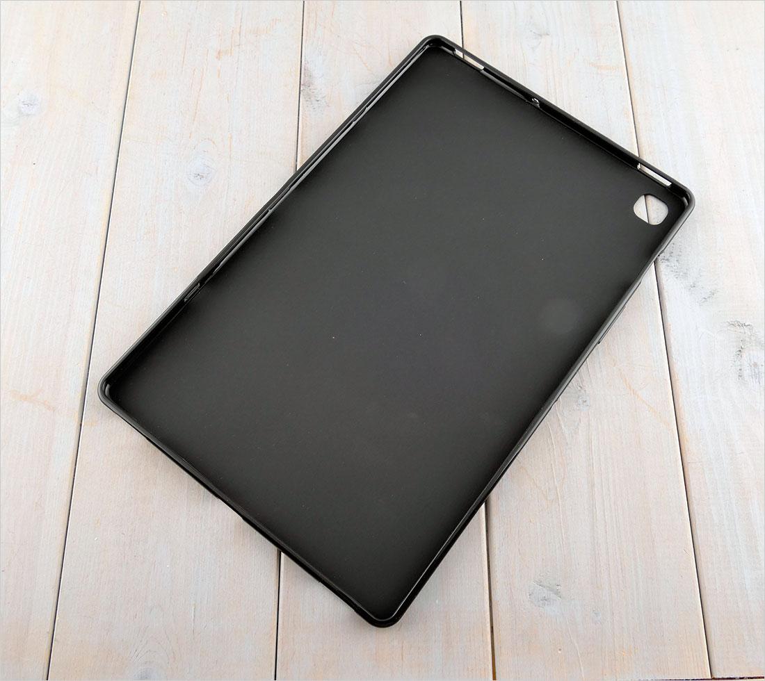 CZARNE etui silikonowe Samsung Galaxy Tab S5E 2019 SM-T720 SM-T725 10.5
